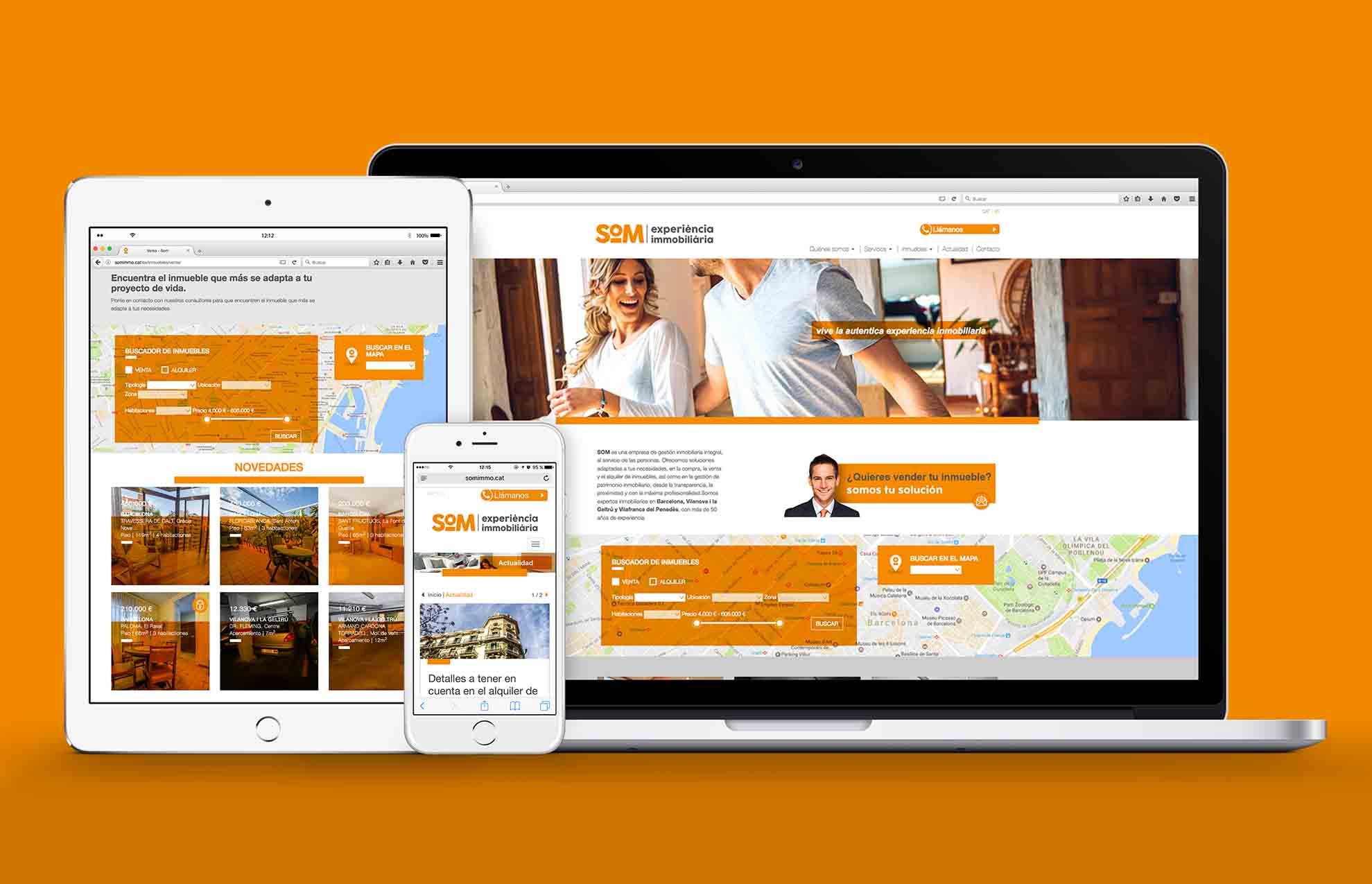 disseny web immobiliaria barcelona - Mediactiu, agencia de publicidad especializada en estrategias de branding