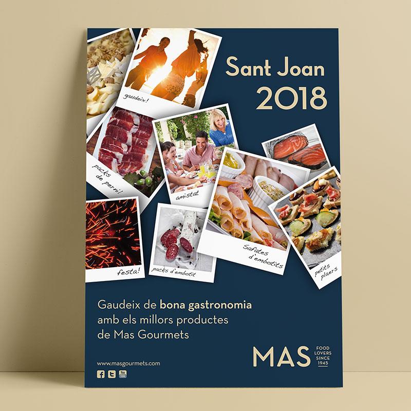poster para promocion temporal - Promoción de productos alimentarios para festividades