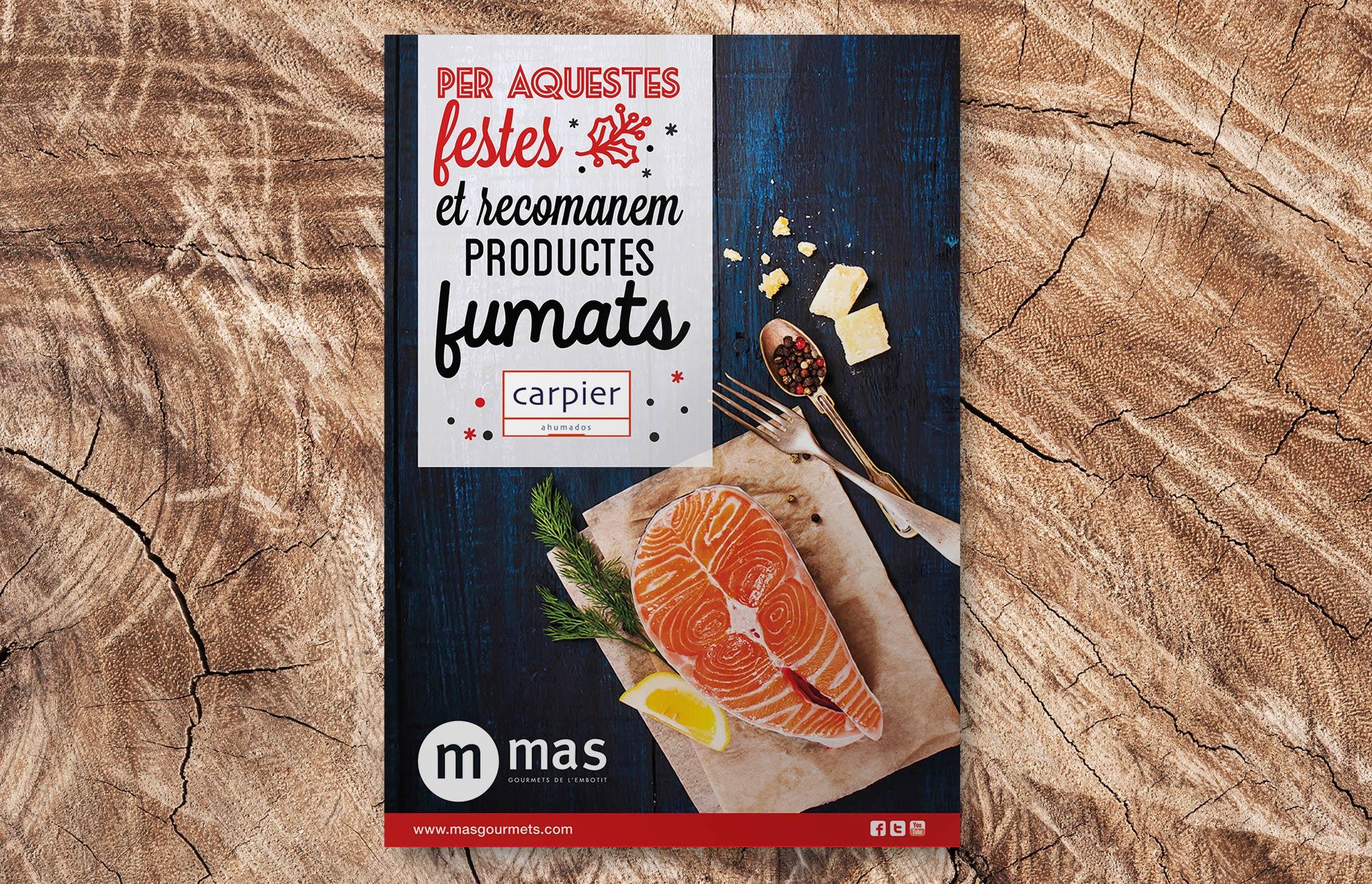 creacion poster gastronomico navidad - El marketing navideño en tu estrategia anual