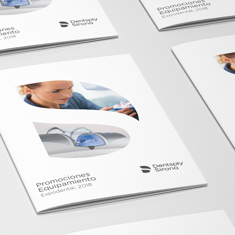 diseno de brochure dental - Catálogo para sector dental
