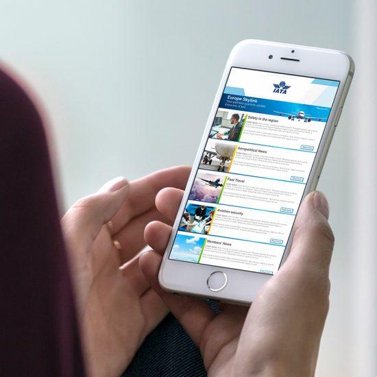 diseno de newsletters barcelona 550x550 - Diseño de Newsletter de IATA