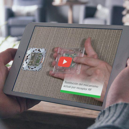 video de instalacion de producto 550x550 - Vídeo demostració i instal·lació de producte