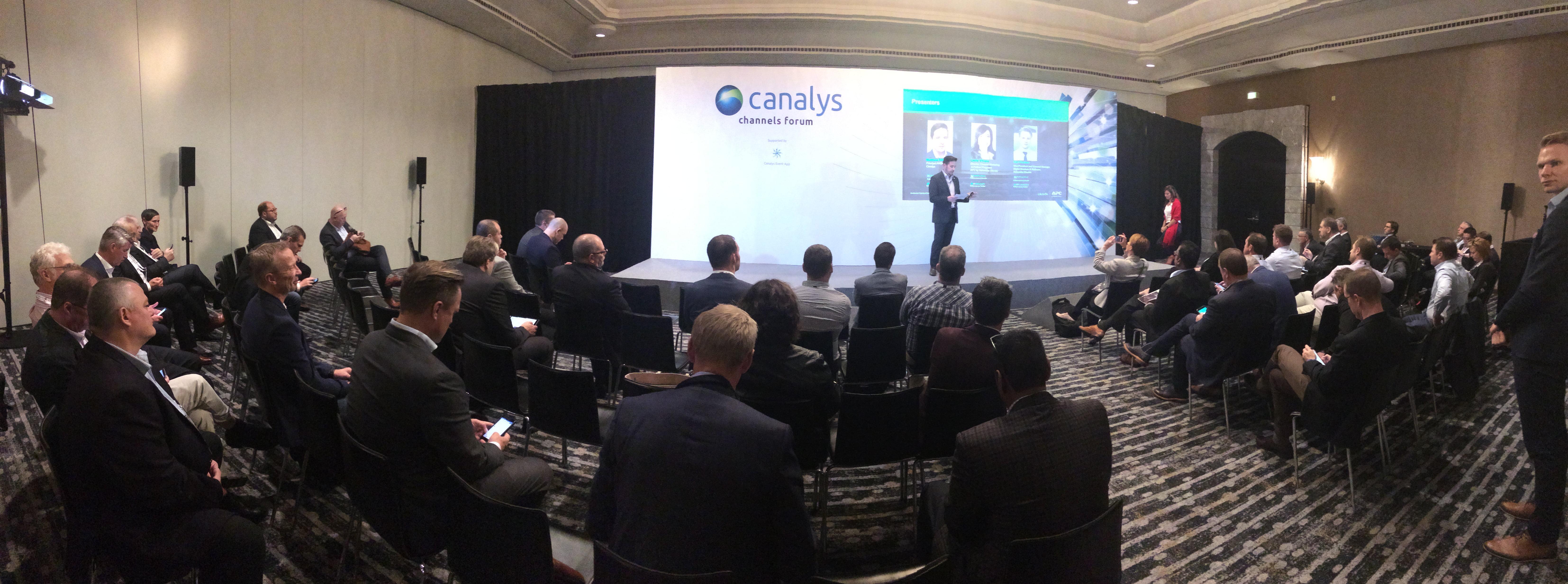 Ponencia APC EMA Canalys - Participamos en el certamen EMEA Canalys Channels Forum