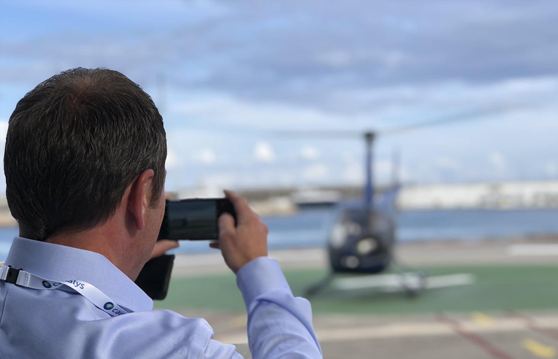 evento canalys 2018 ganador viaje helicoptero - Participamos en el certamen EMEA Canalys Channels Forum