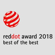 "premio red dot packaging - Mediactiu se va a Berlín a recoger el prestigioso premio RED DOT AWARD 2018, en la categoría ""Best of the Best"""