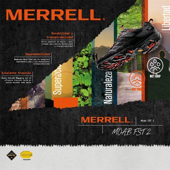 diseno de escaparates para tienda de deporte 550x550 - Escaparatismo para Merrell