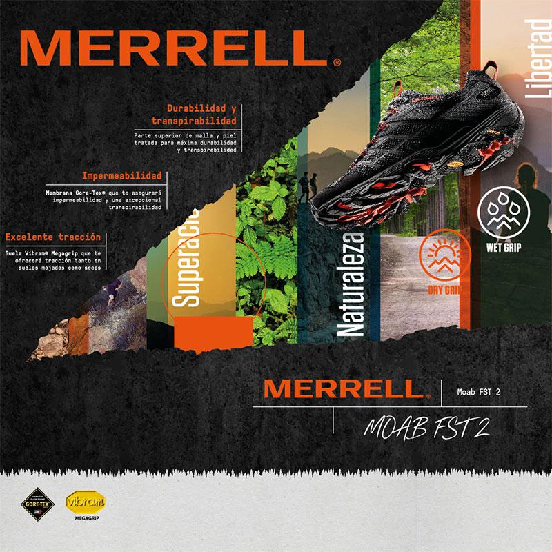 diseno de escaparates para tienda de deporte - Escaparatismo para Merrell
