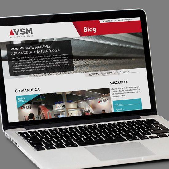 diseno de blog para web 550x550 - Creació de website tipus blog