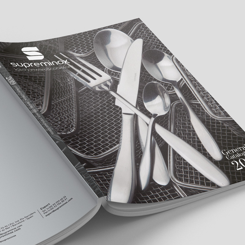 diseno de catalogo de productos horeca - Catálogo general sector menaje