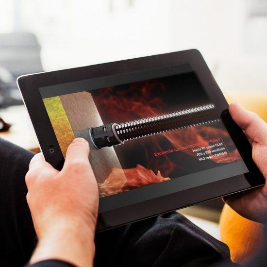 produccion de video industrial barcelona 550x550 - Vídeo de presentació de producte industrial