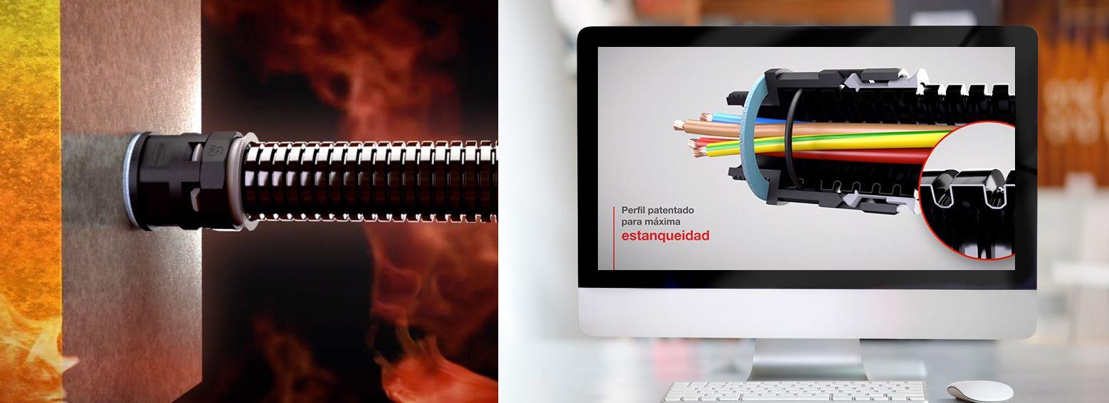 renderizado 3d video de producto - Vídeo de presentación de producto industrial
