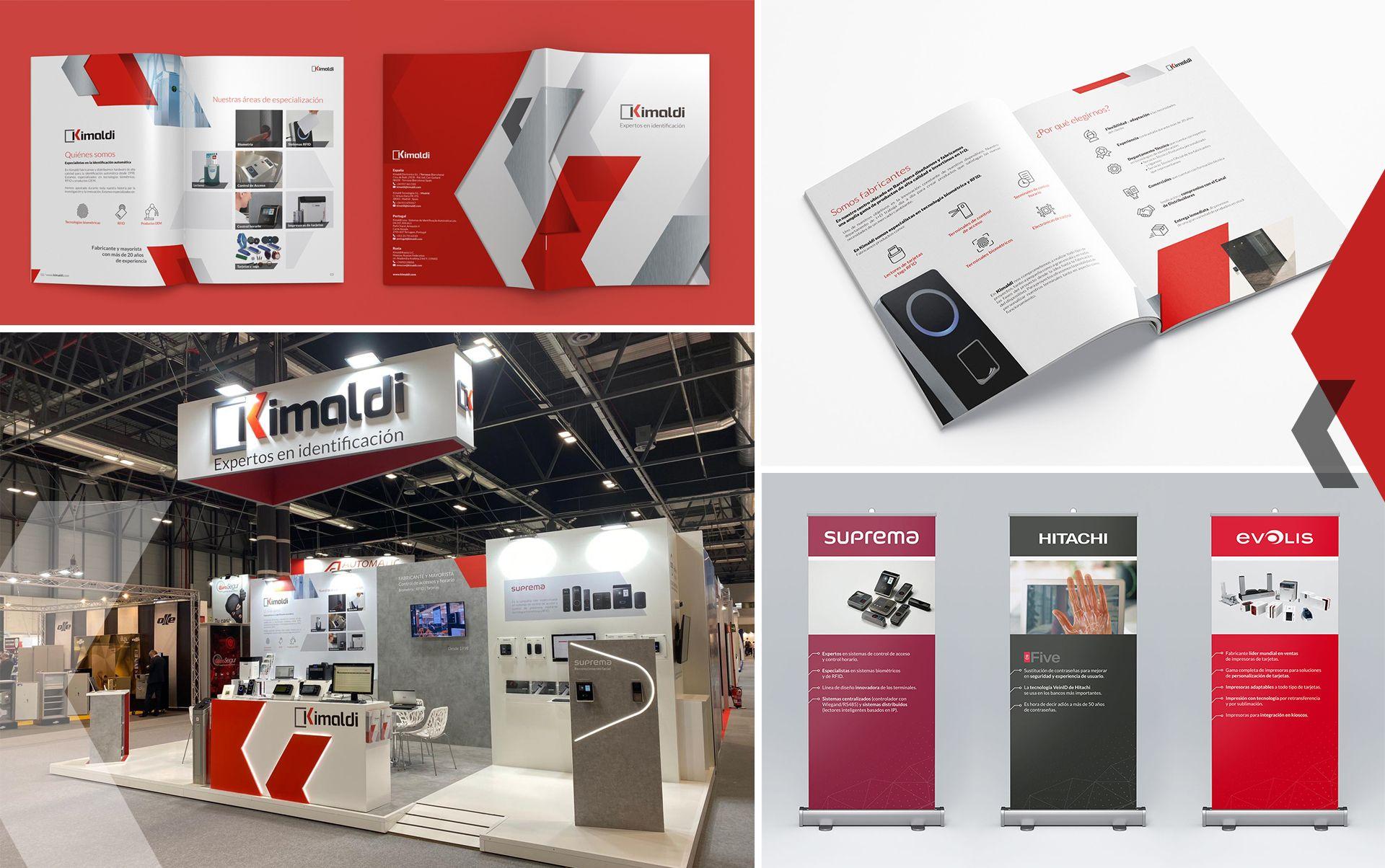 Catalogo de productos kimaldi - Restyling de marca y material corporativo