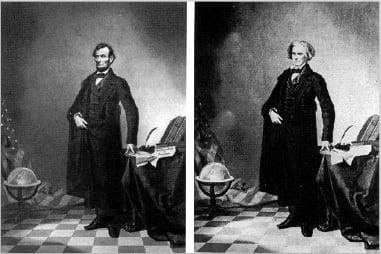 Lincoln retoque fotográfico - Un pequeño paseo por la historia del retoque fotográfico