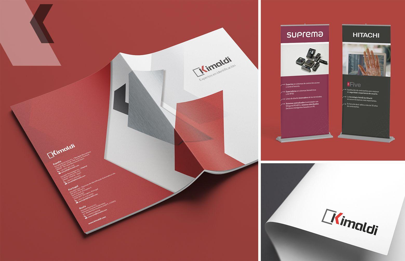 comunicacion corporativa kimaldi - Restyling de marca y material corporativo