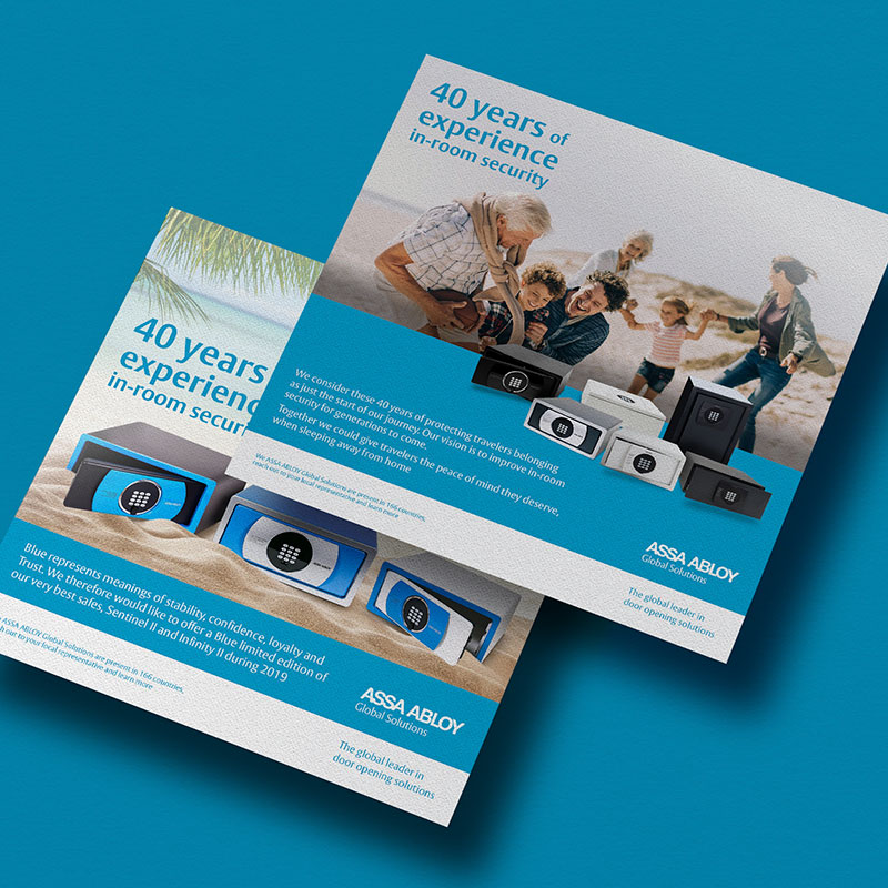 diseno de flyers barcelona 1 - Campaña promocional on / off-line