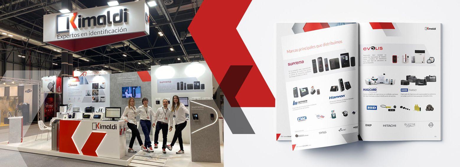 diseno stand promocional para evento - Restyling de marca y material corporativo