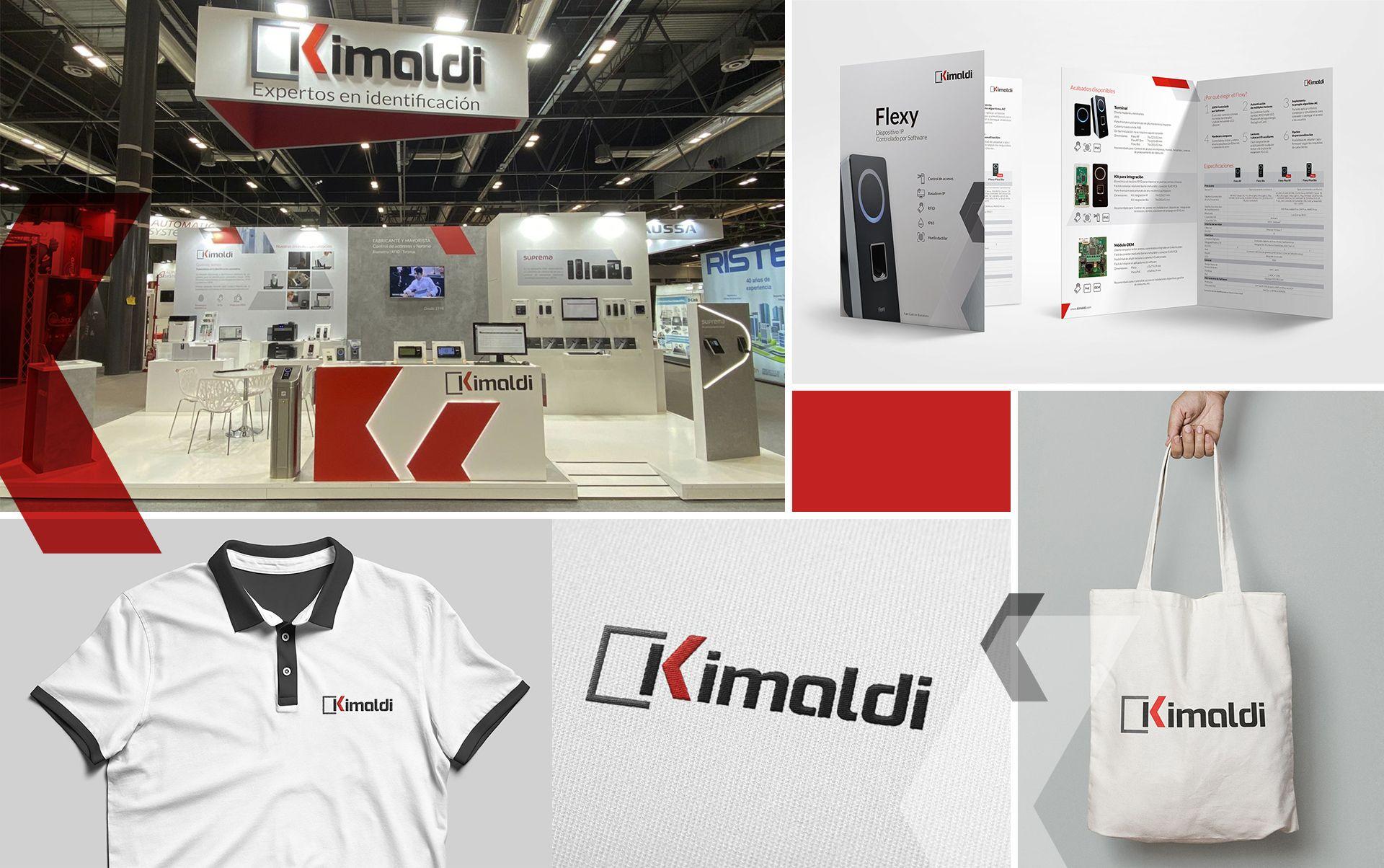 restyling de marca kimaldi - Restyling de marca y material corporativo