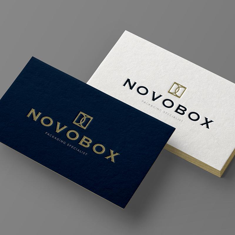 diseno de imagen corporativa barcelona - Restiling de marca para Novobox