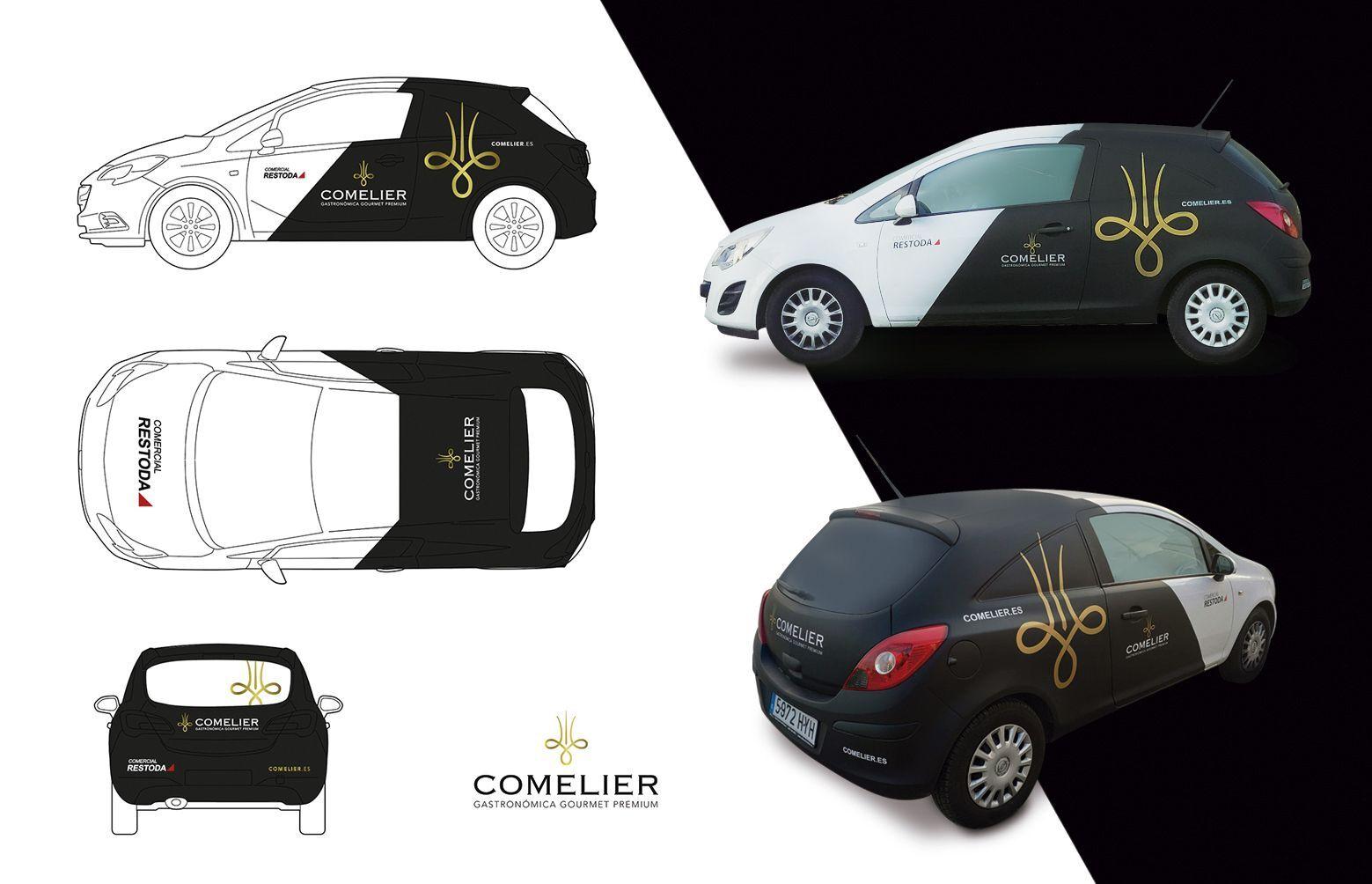 rotulacion de vehiculos alta gama - Creación de naming y branding para marca de alimentación
