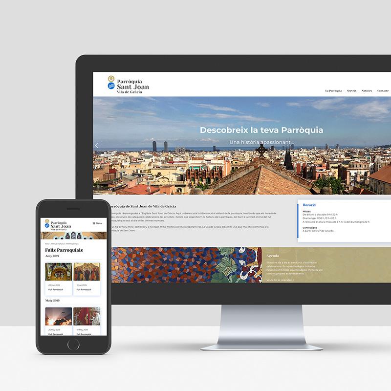 diseno de web para parroquia - Diseño de web para parroquia