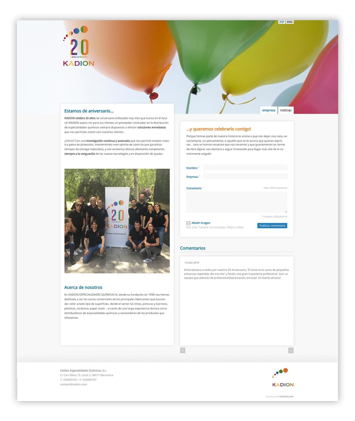 diseno de microsite - Landing Page, la mejor opción para una campaña promocional