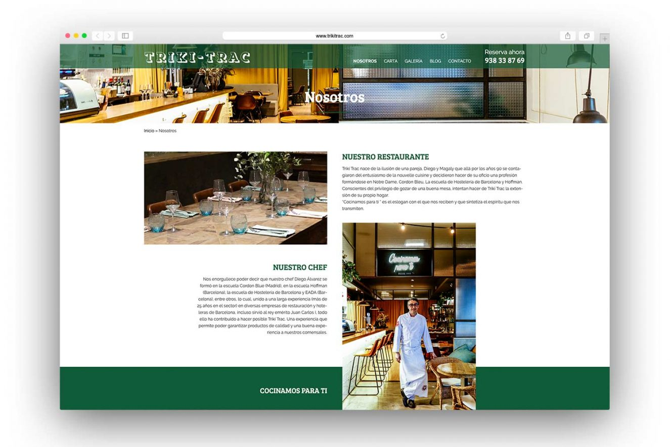 crear pagina web barcelona 1325x883 - Diseño web restaurante de Barcelona
