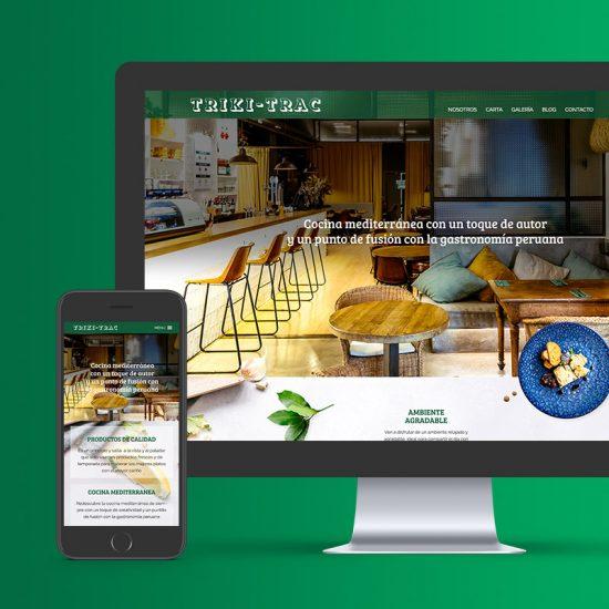 diseno de web para restaurante 550x550 - Disseny web restaurant de Barcelona