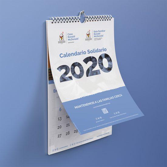 maquetacion diseno de calendario 550x550 - Diseño de calendario McDonald's