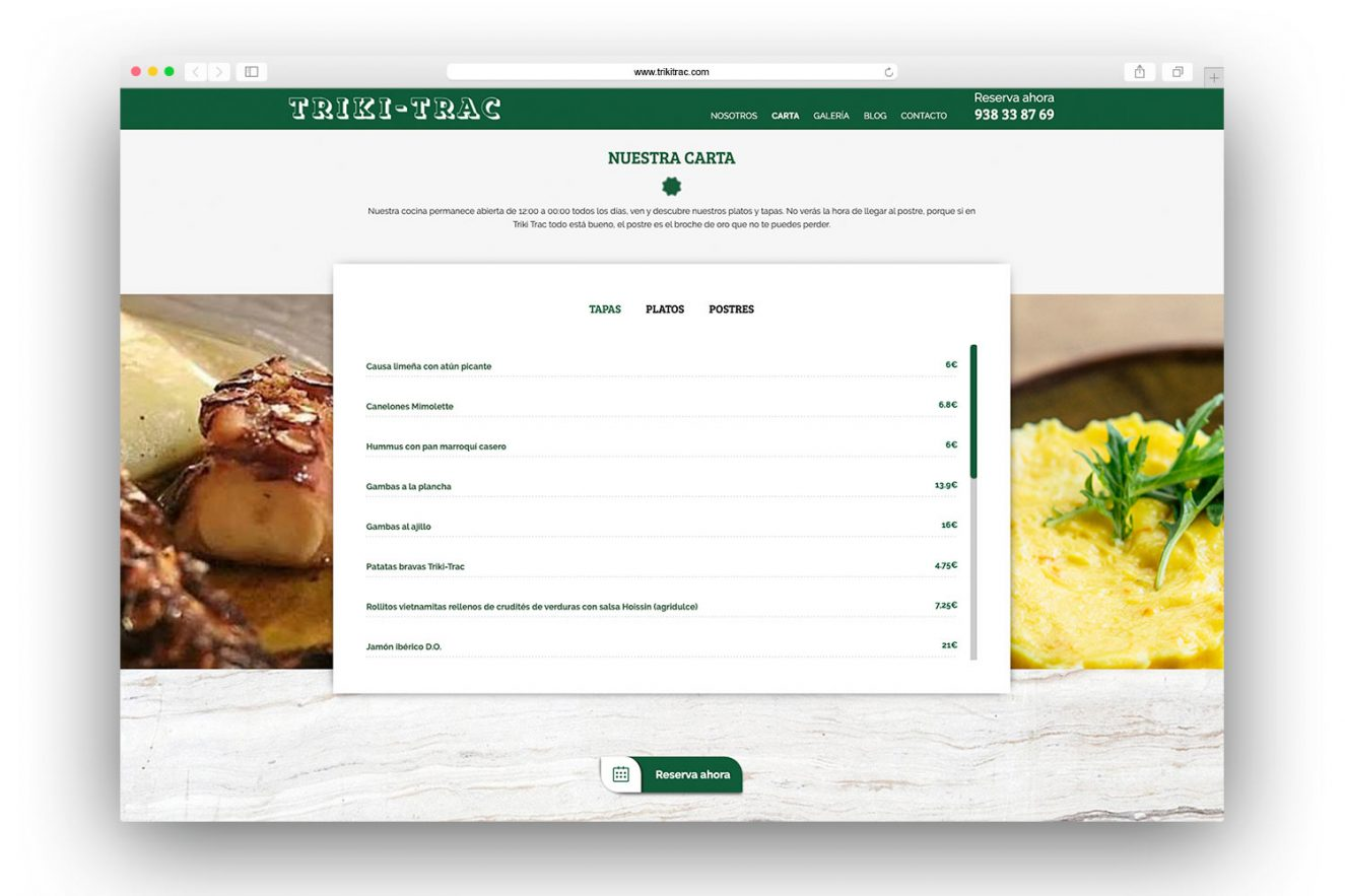 maquetacion pagina web barcelona 1325x883 - Diseño web restaurante de Barcelona