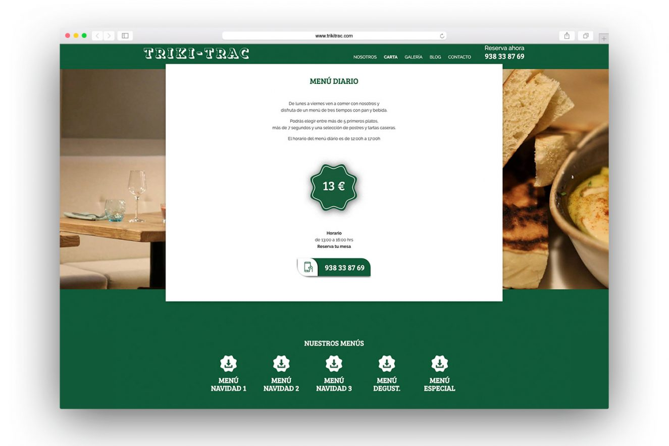 pagina web restaurante barcelona 1325x883 - Diseño web restaurante de Barcelona