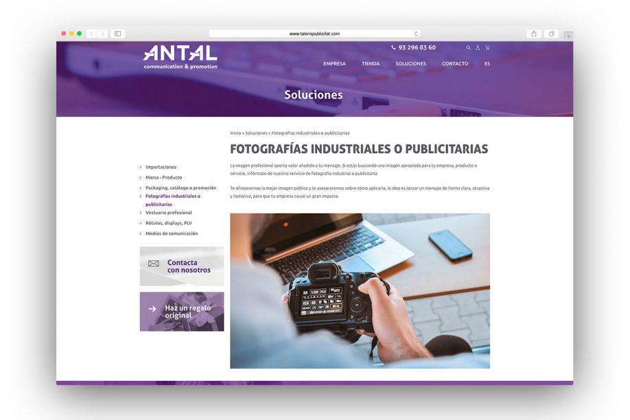 web-para-empresa-de-publicidad