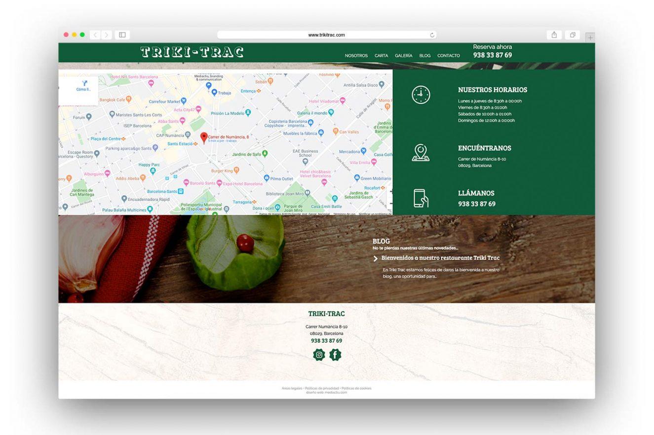 website restaurante barcelona 1325x883 - Diseño web restaurante de Barcelona