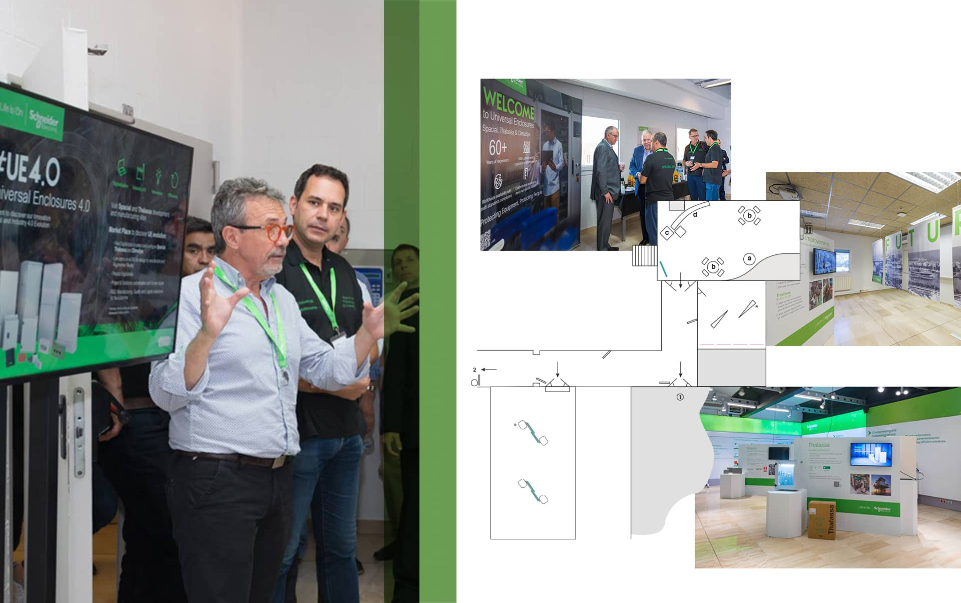 03 Evento Schneider Electric - Dirección, diseño y producción de evento