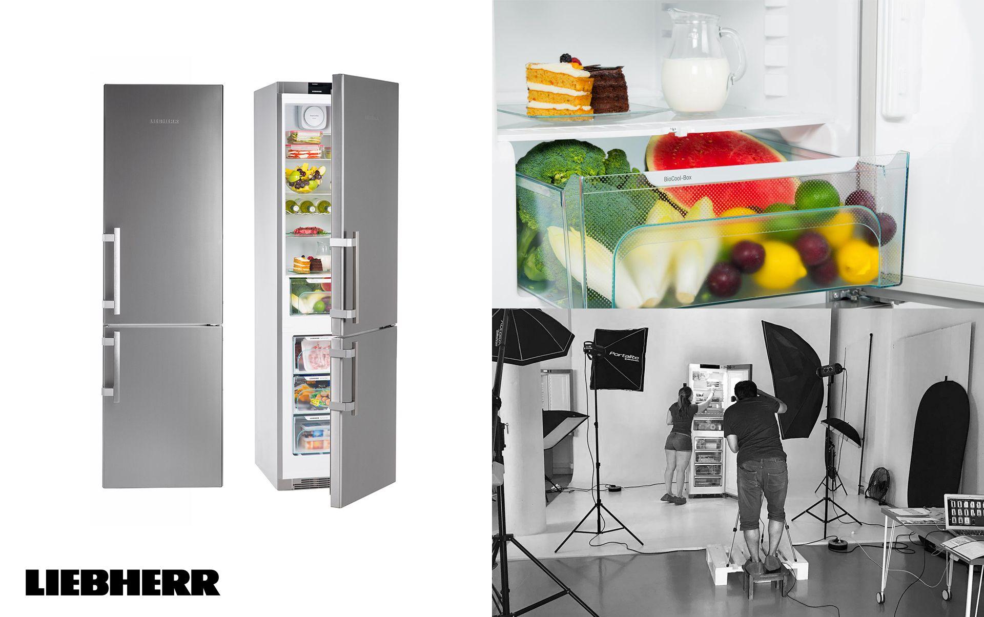 Liebherr sesion fotografica neveras - Sesión fotográfica de electrodomésticos