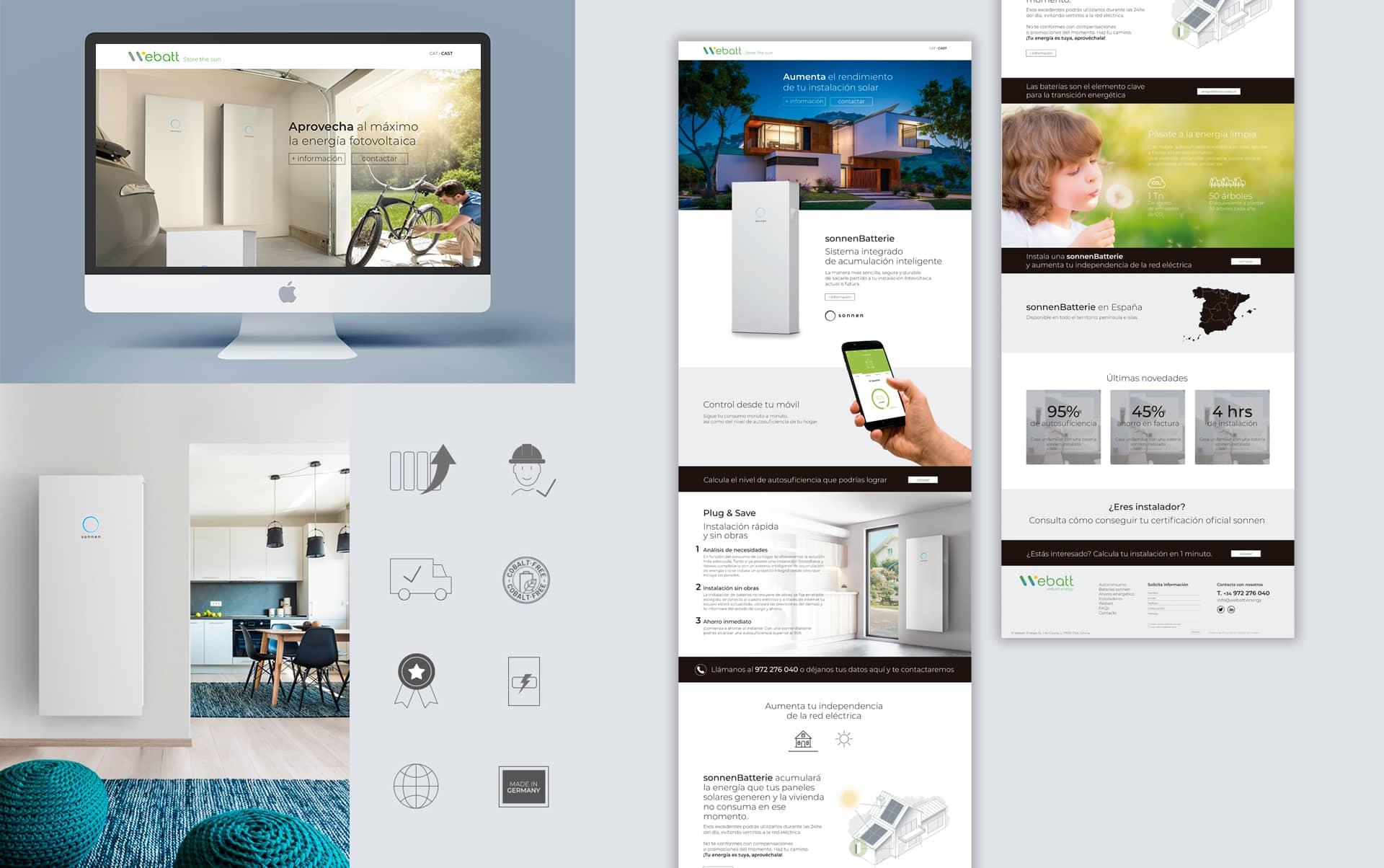 03 Proyecto de comunicacion global para web webatt - Análisis, consultoría, estilo comunicacional y diseño web
