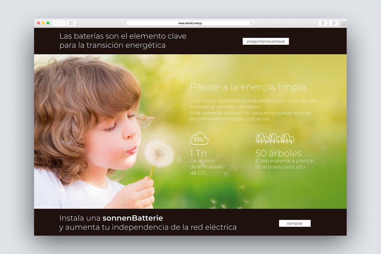 creacion de website energia solar 1325x883 - Análisis, consultoría, estilo comunicacional y diseño web