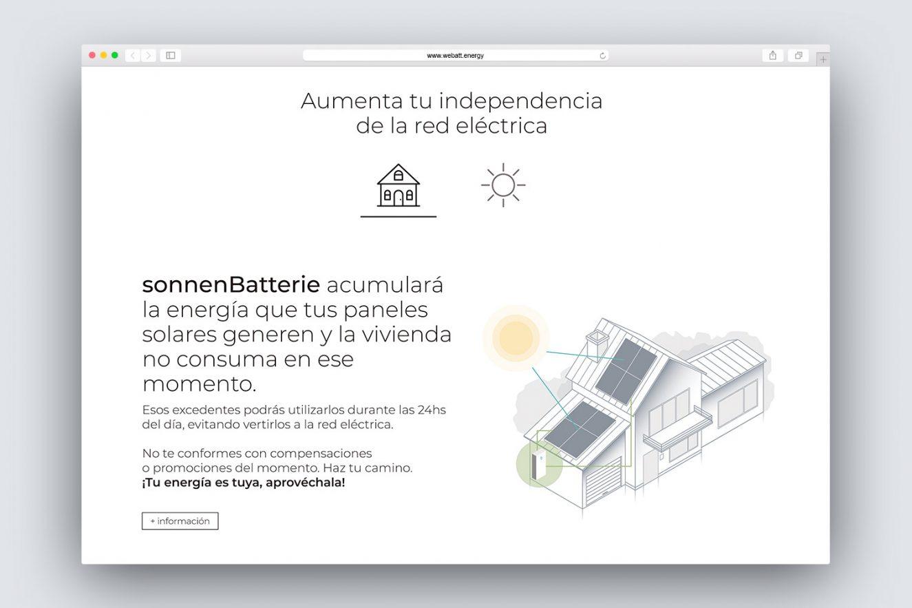 diseno web energia solar 1325x883 - Análisis, consultoría, estilo comunicacional y diseño web