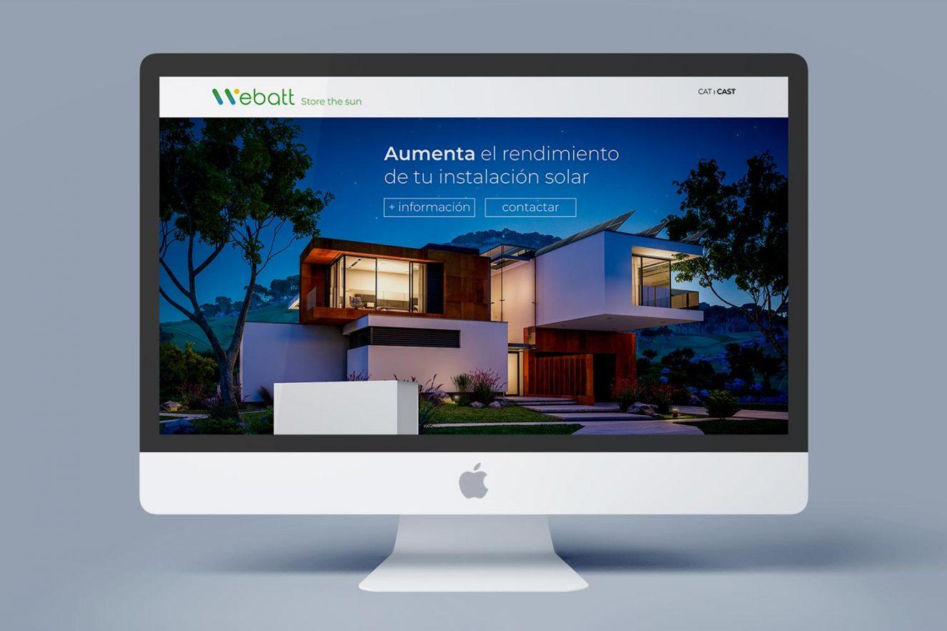 pagina web empresa energia solar barcelona 1 1325x883 - Análisis, consultoría, estilo comunicacional y diseño web