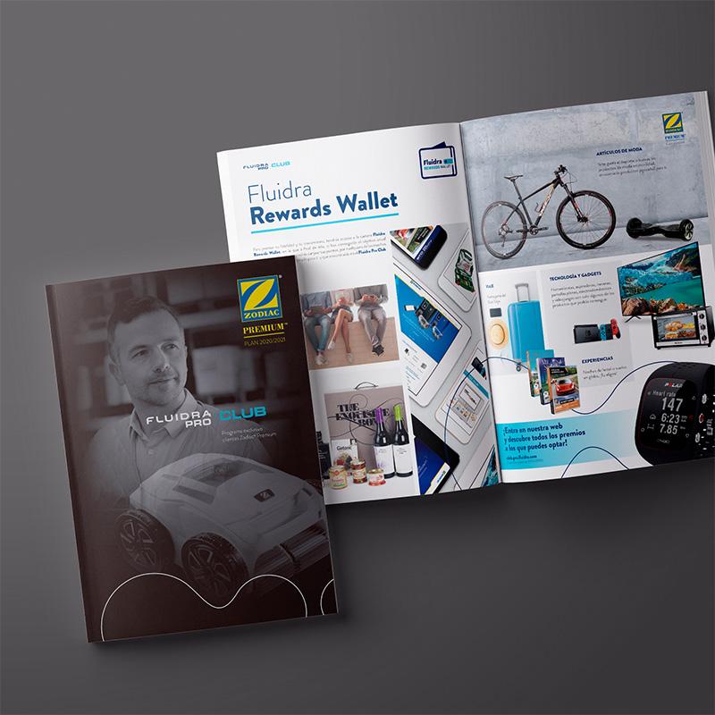 maquetacion de catalogos promocionales - Catálogos campaña de fidelización