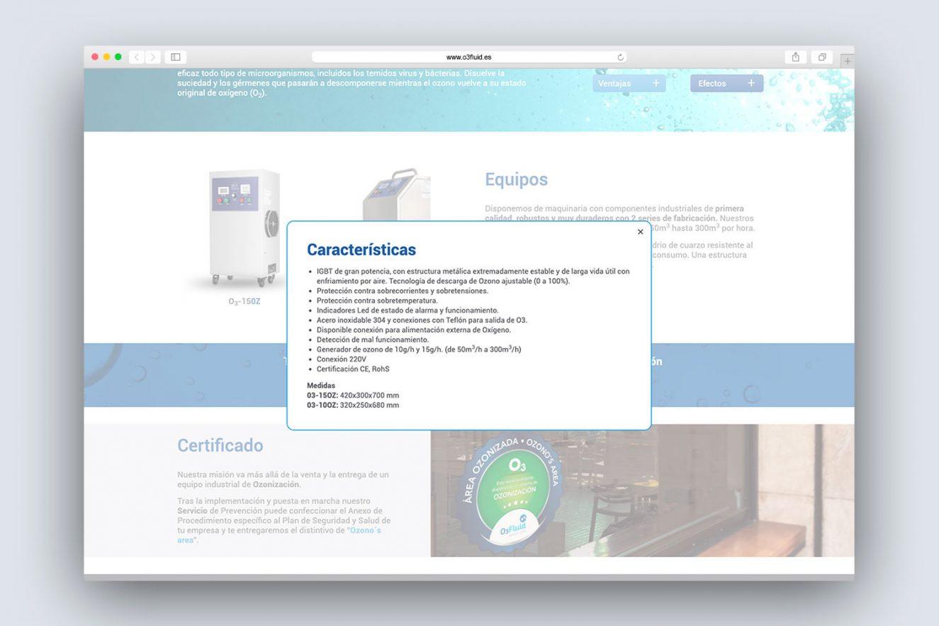 landing-page-corporativa-para-empresa-de-ozono-barcelona