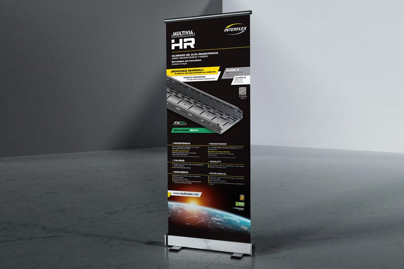 rollup-para-promocion-producto-industrial