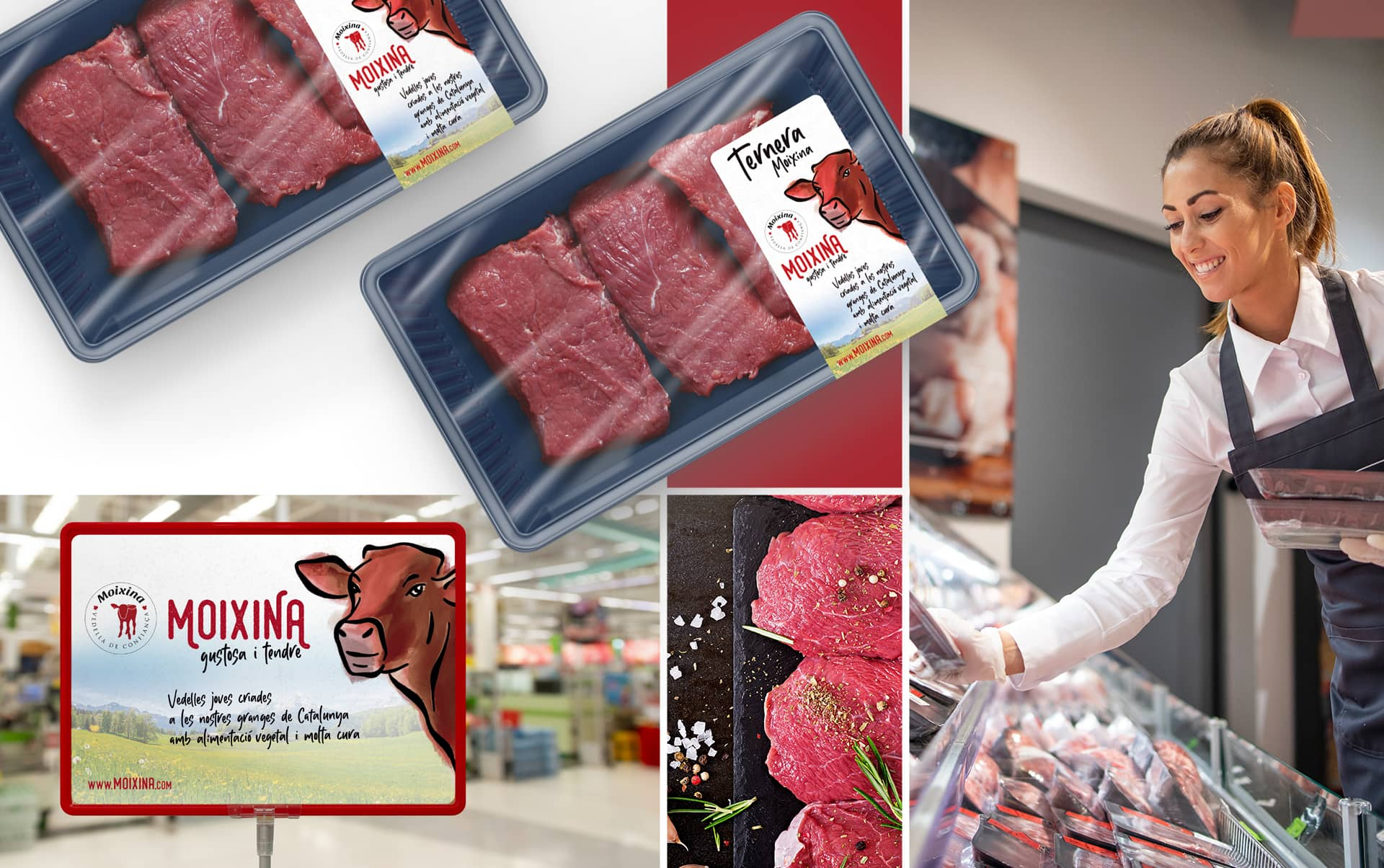 04 creacion de imagen coporativa alimentacion - Reposicionamiento de producto para una empresa distribuidora del sector cárnico