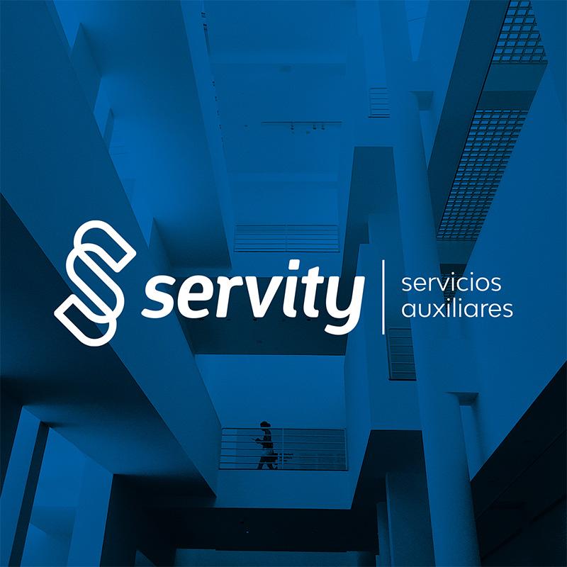 branding logo barcelona - Creación de marca para empresa de servicios auxiliares