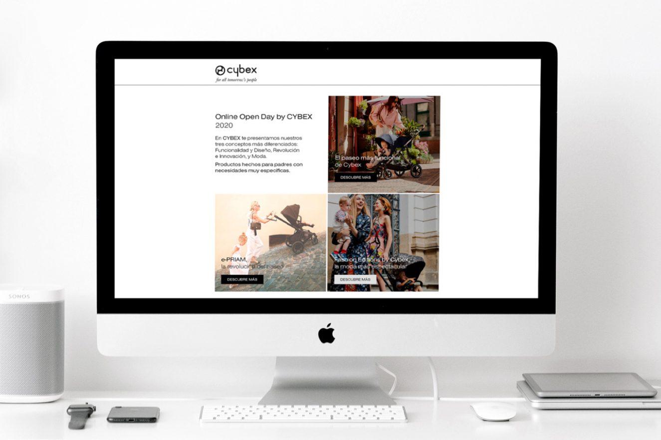 creacion de pagina web promocional 1325x883 - Evento on-line de presentación de producto