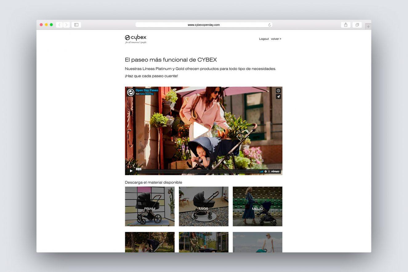 diseno de pagina web para promocion 1325x883 - Evento on-line de presentación de producto