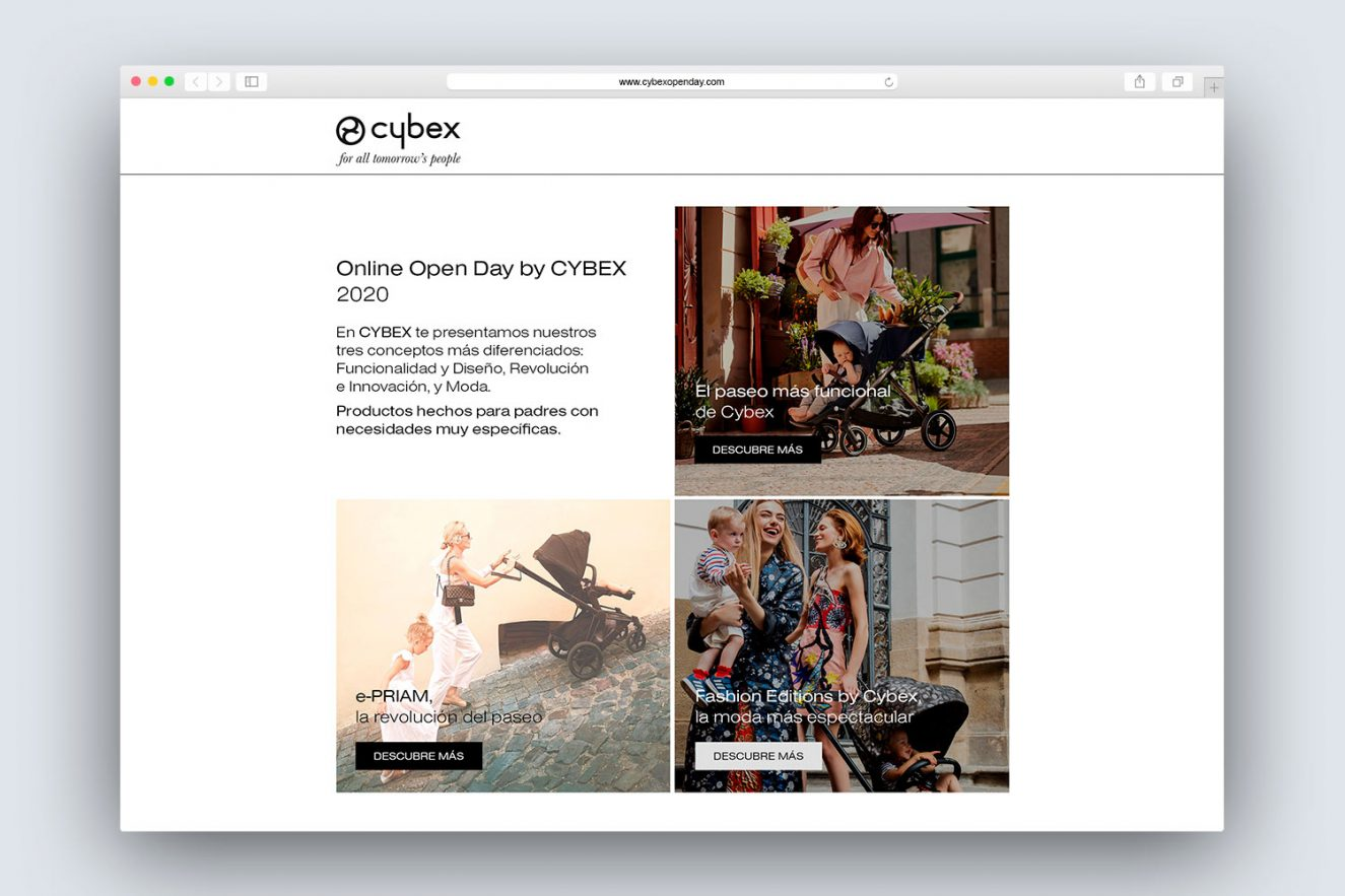pagina web de evento online 1325x883 - Evento on-line de presentación de producto
