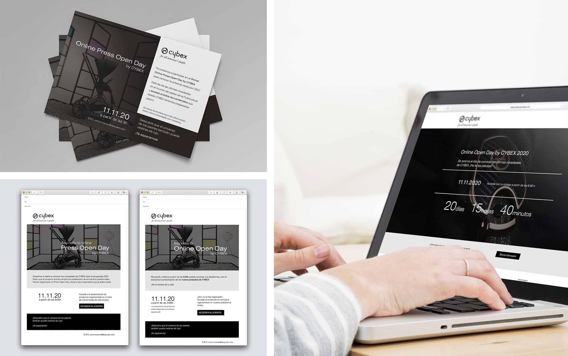 03 Acciones para evento en el sector retail - Evento on-line de presentación de producto