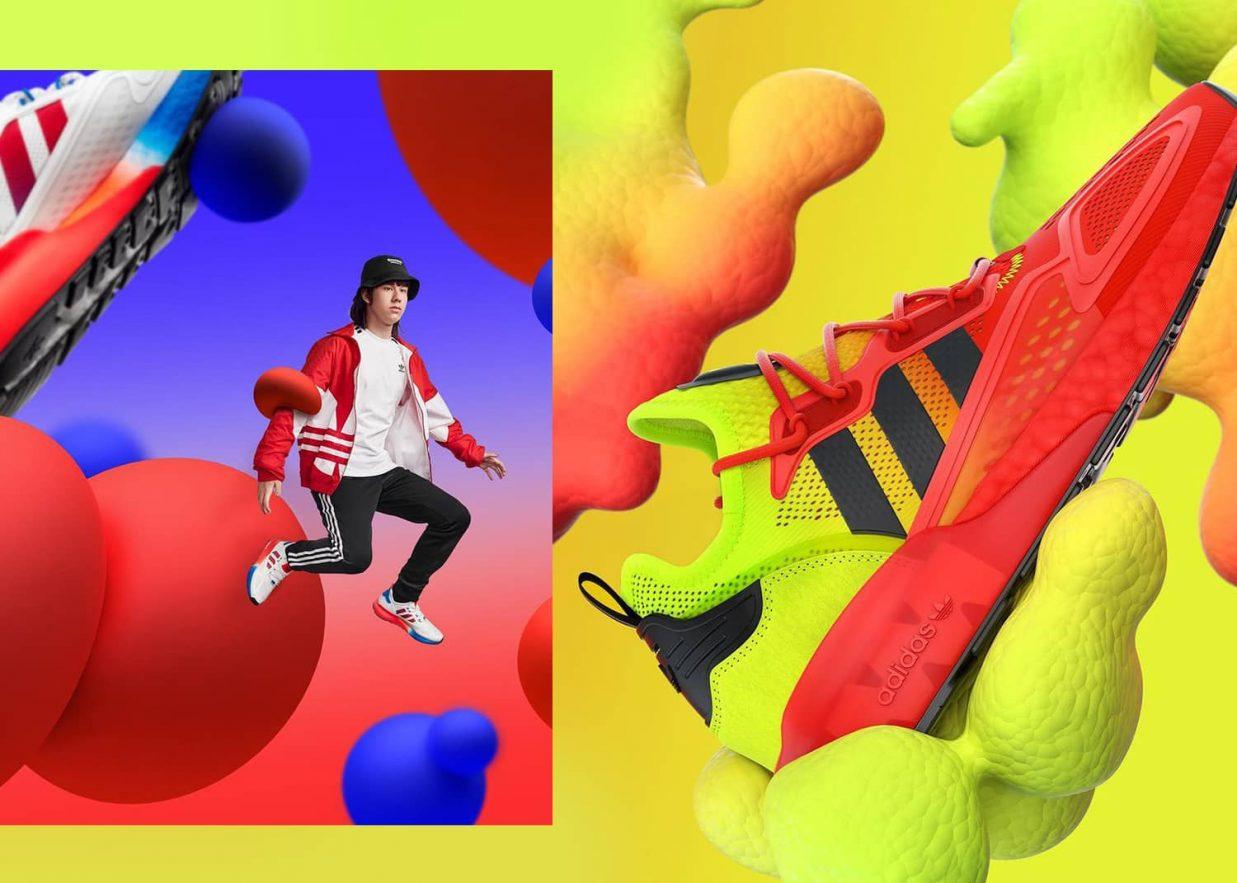 Adidas tendencias publicidad 1237x883 - 10 tendencias en diseño gráfico para un año muy esperado. ¡Bienvenido 2021!