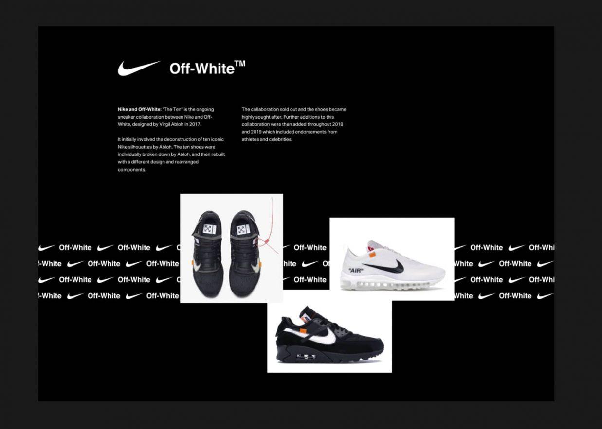 Nike Off white 1237x883 - 10 tendencias en diseño gráfico para un año muy esperado. ¡Bienvenido 2021!