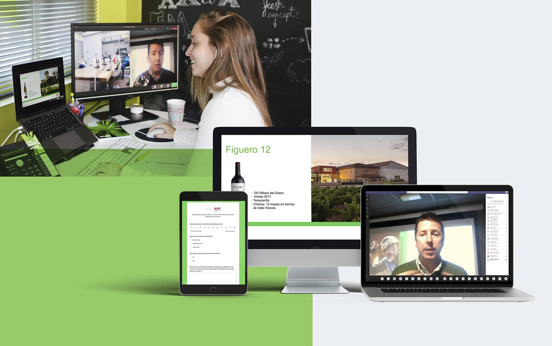 cata de vino evento online - Evento online para mantener activa la relación con los distribuidores